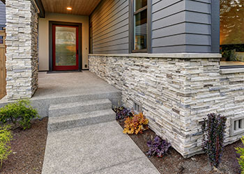 Mortarless Stone Veneer Panels Ideas For Adding Them To
